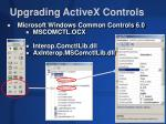 upgrading activex controls