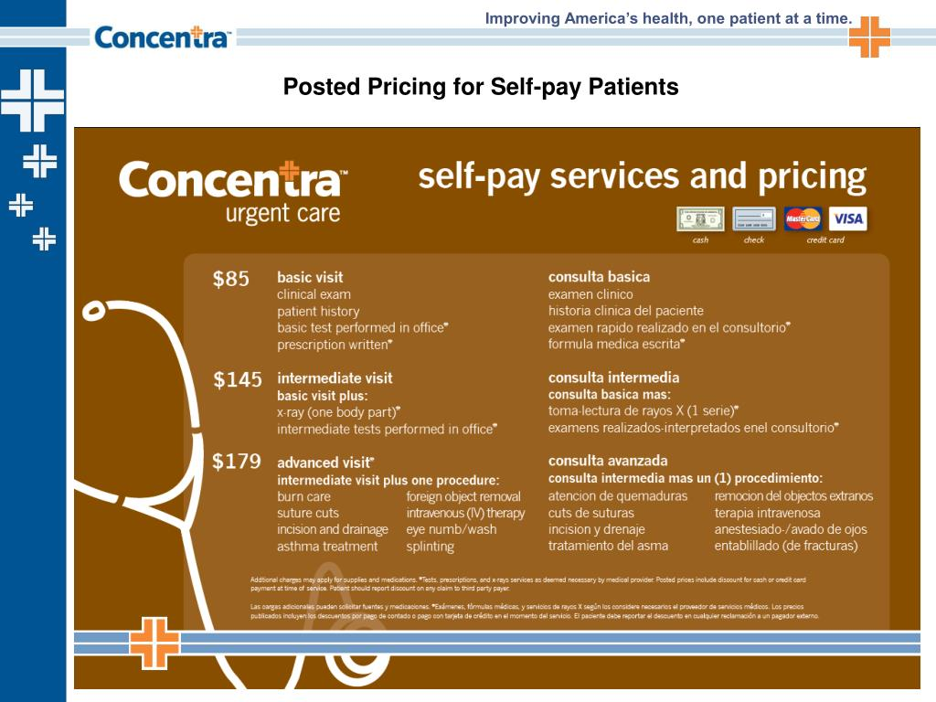 PPT - Introducing Concentra TotalCare and Urgent Care: Solutions for
