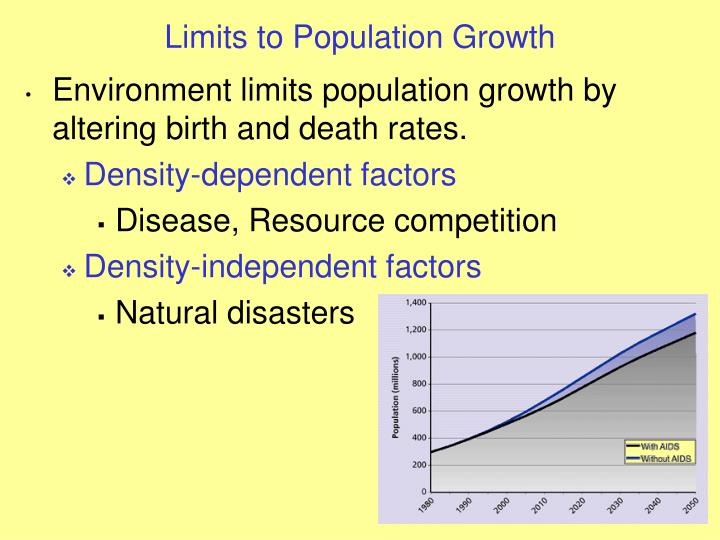 impact of population growth to environmental Impact of population growth to environmental science impacts of populations growth introduction undoubtedly, the population growth is one of the most influential social issues in the recent years as the earth's population rises, the changes in different aspects, environmental, global economic and political, affect our individual life.