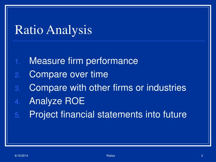 """conclusion for ratio analysis project Introduction the term """"ratio analysis"""" refers to the analysis of the financial statements in conjunction with the interpretations of financial results of a particular period of operations, derived with the help."""
