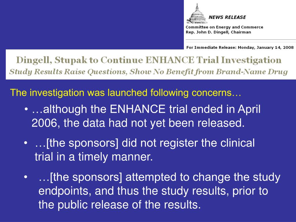 PPT - Update on Clinical Trials Registration and Results Reporting