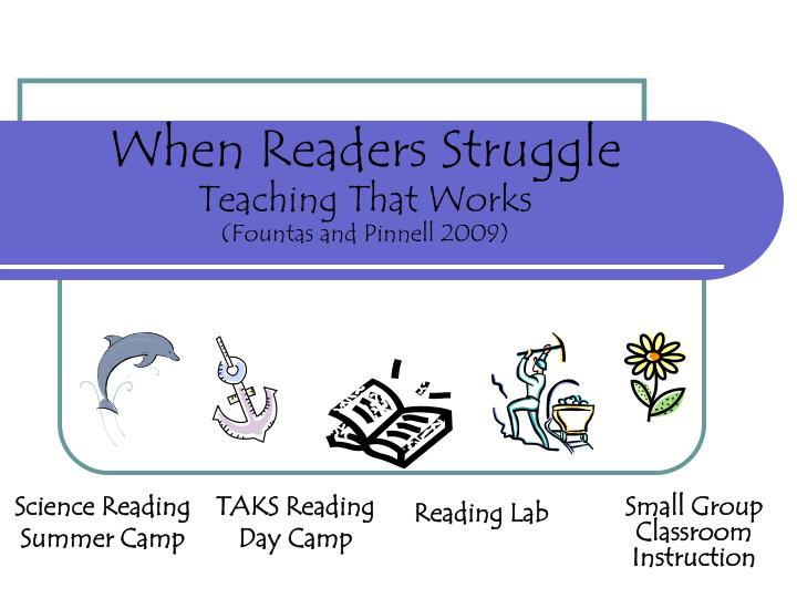 Science reading summer camp
