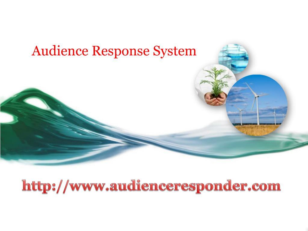 audience response system l.