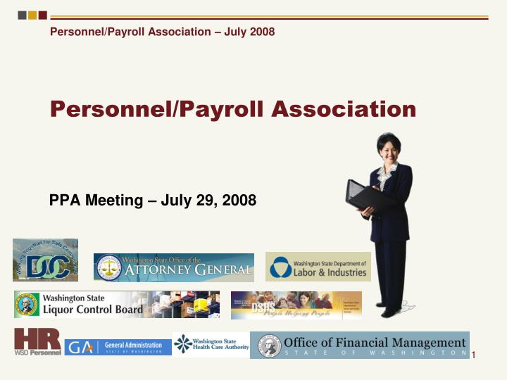 personnel payroll association n.