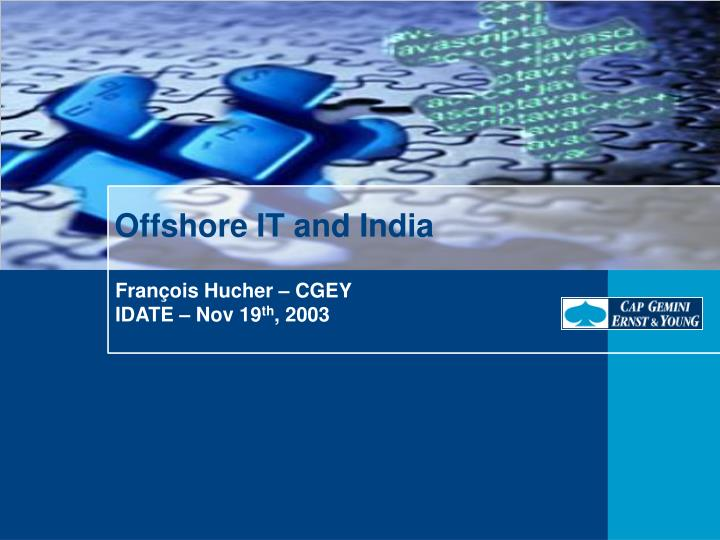 offshore it and india n.