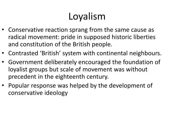 Loyalism