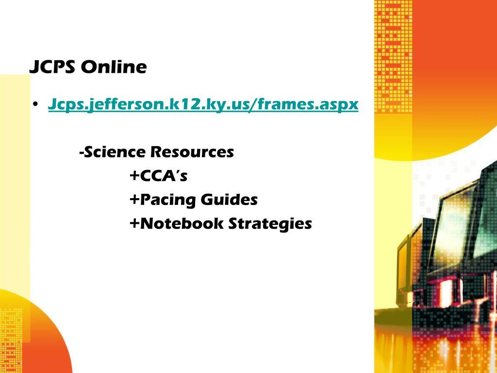 JCPS Online