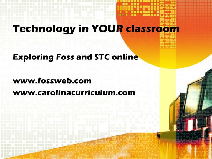 Technology in your classroom3