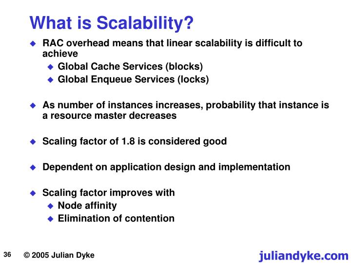 What is Scalability?