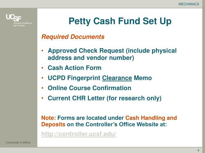 PPT - Petty Cash Custodian Workshop PowerPoint Presentation - ID:1306390