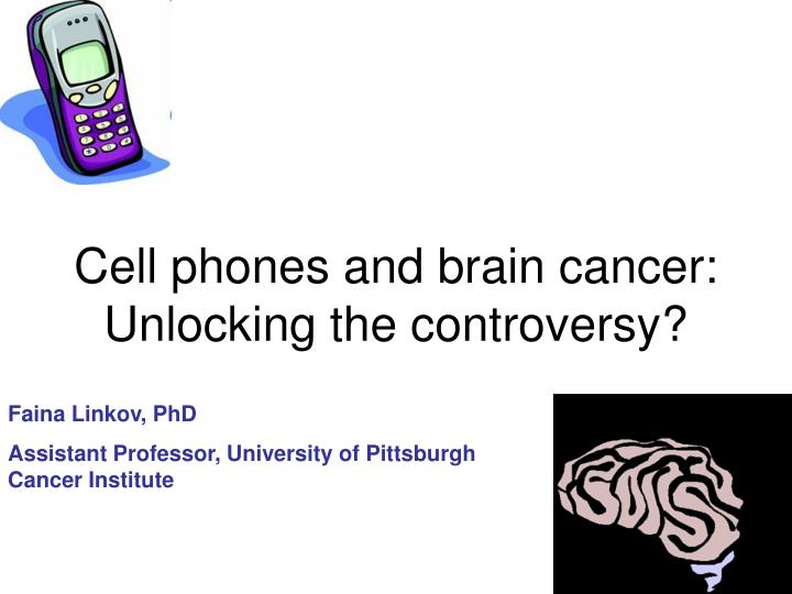 research paper on cell phones and cancer The purpose of my research is to find the effects of cell phones on your brain and determine if it can be deadly my procedure was, i looked up this topic on many websites and read what different organizations thought about this topic, and i read real-life stories written by people who have brain cancer and believe it was caused by cell phones.
