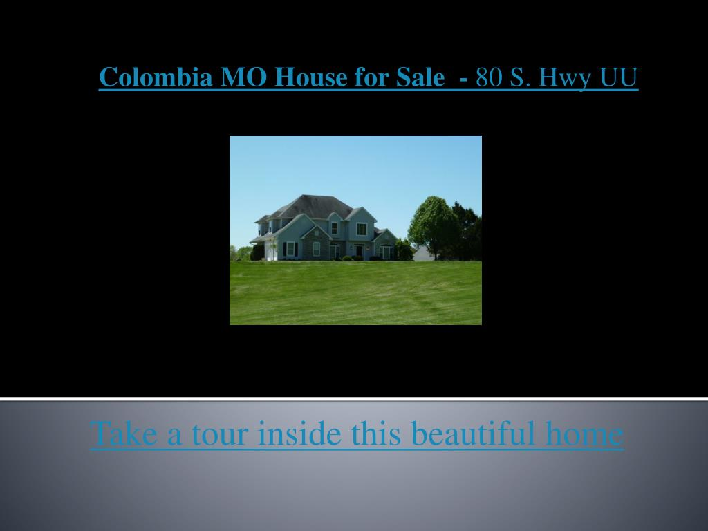 colombia mo house for sale 80 s hwy uu l.