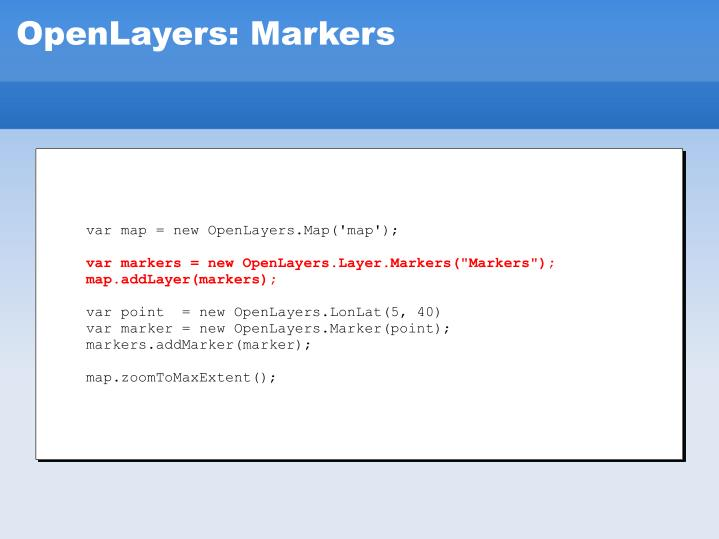 var map = new OpenLayers.Map('map');