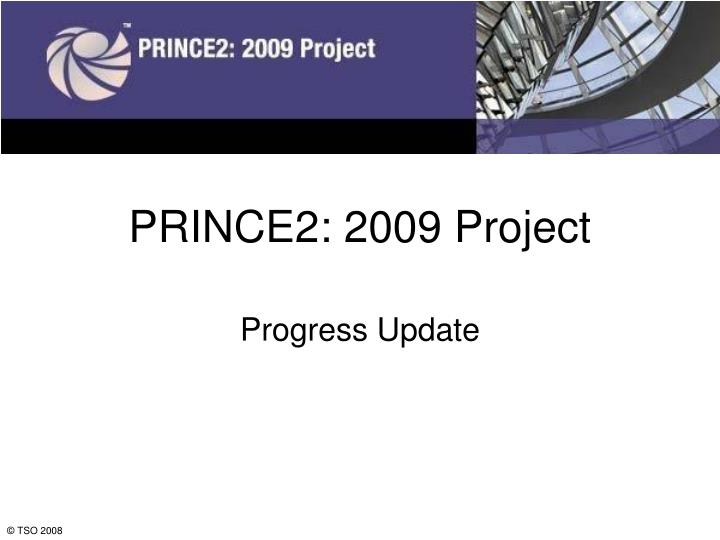 prince2 2009 project n.