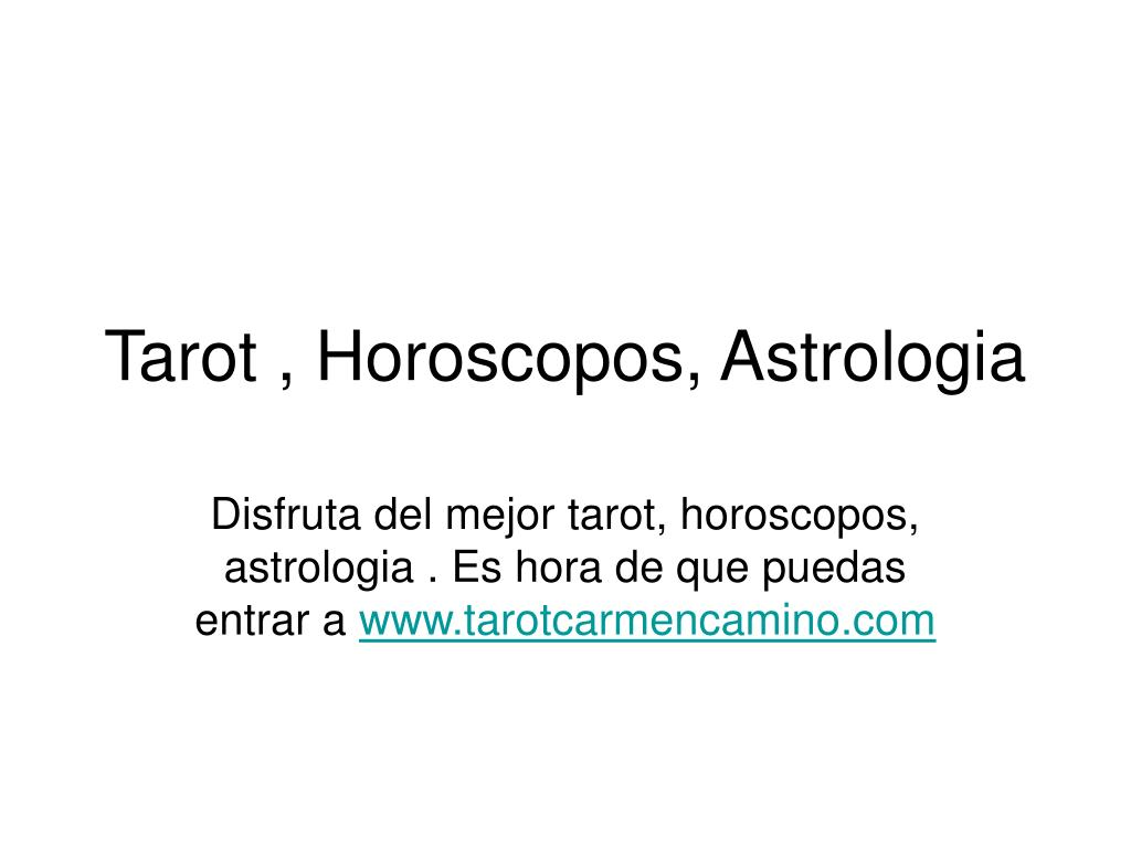 tarot horoscopos astrologia l.