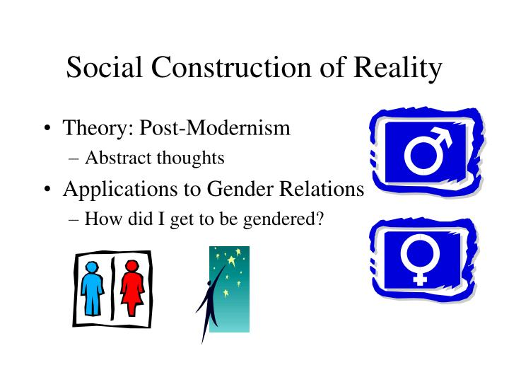 social construction of reality n.