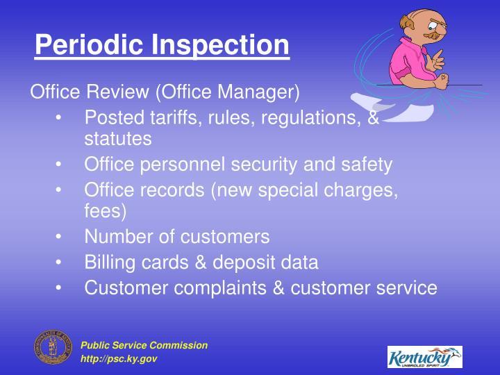 Periodic Inspection