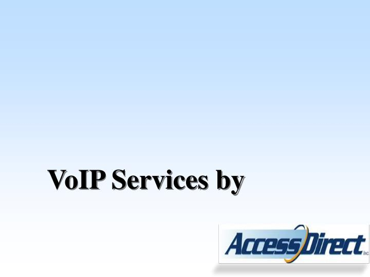 VoIP Services by