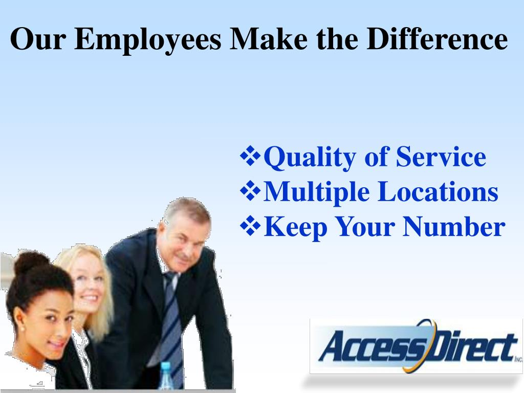Our Employees Make the Difference