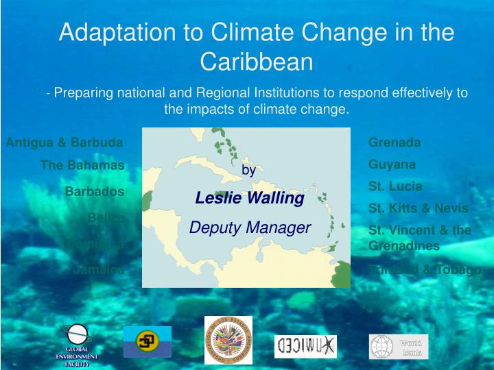 climate change impact on the caribbean environmental sciences essay Climate change is a change in the climatic conditions on the earth this is caused due to various internal and external factors including solar radiation, variation in the earth's orbit, volcanic eruptions, plate tectonics, etc climate change, in fact, has become a cause of concern particularly over the last.