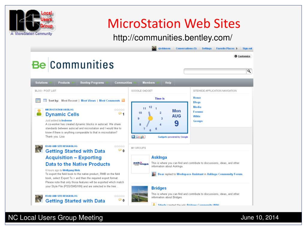 PPT - MicroStation Tips & Hints PowerPoint Presentation - ID