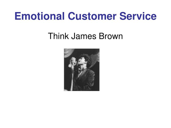 Emotional Customer Service