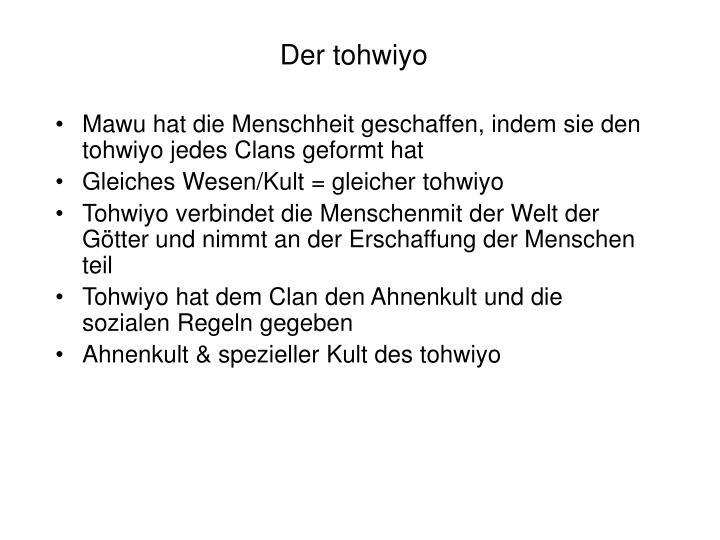 Der tohwiyo