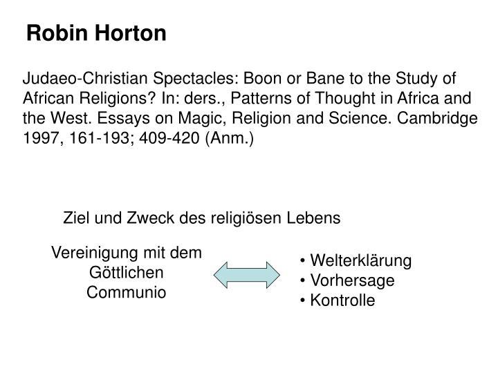 Robin Horton