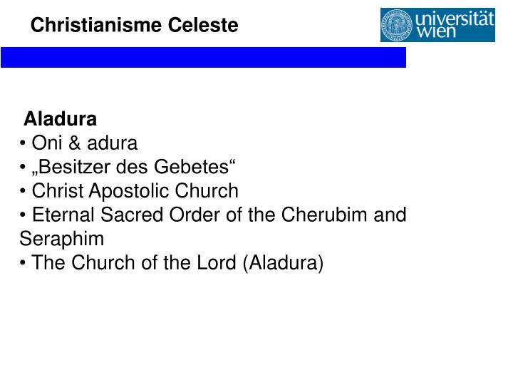 Christianisme Celeste