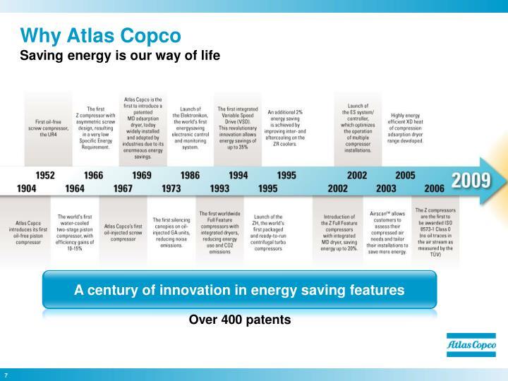 Why Atlas Copco