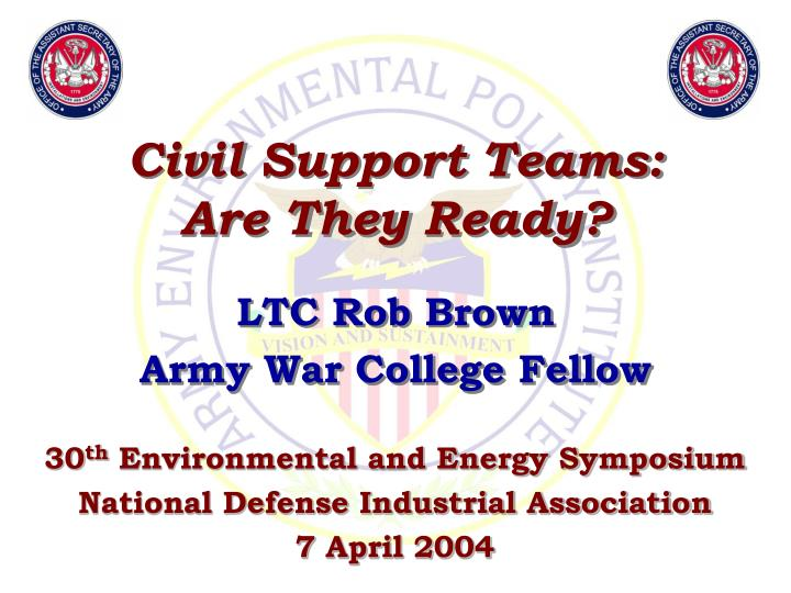 civil support teams are they ready n.