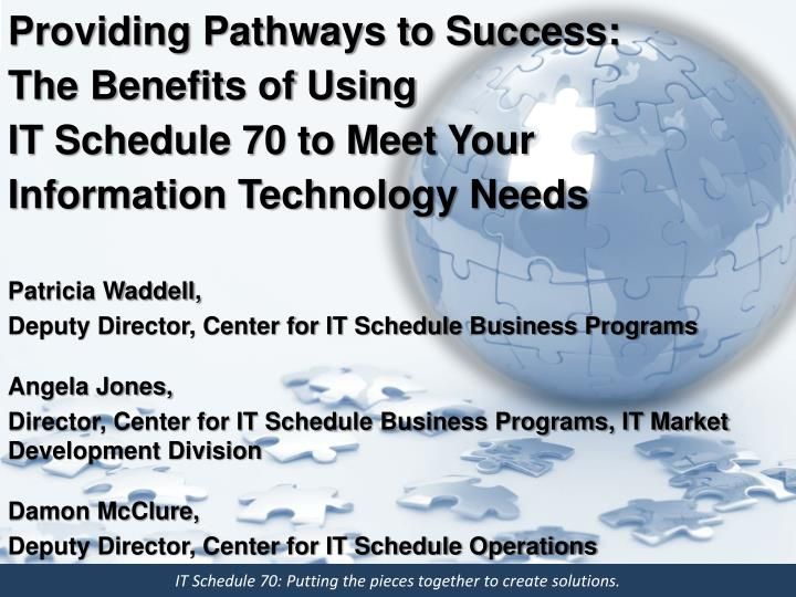 Providing Pathways to Success:  The Benefits of Using