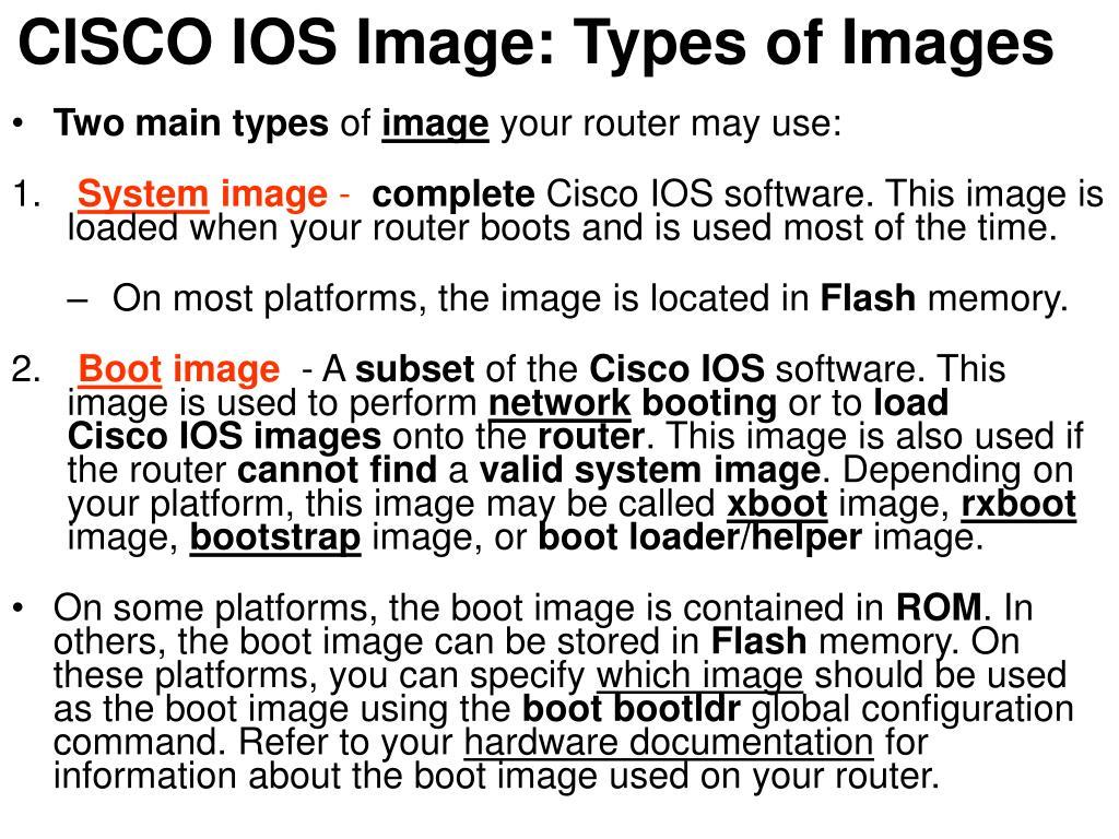 Cisco Boot Loader
