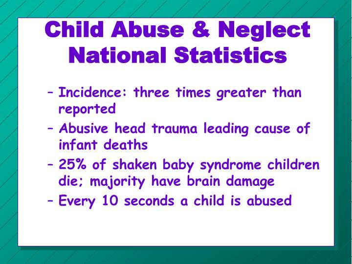 Child abuse neglect national statistics1
