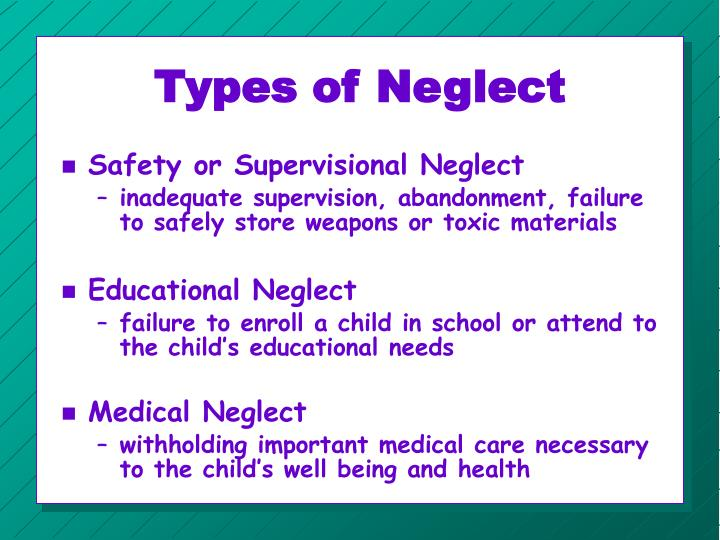 Types of Neglect