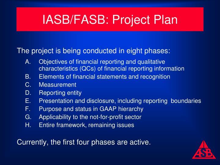 IASB/FASB: Project Plan