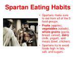 spartan eating habits1