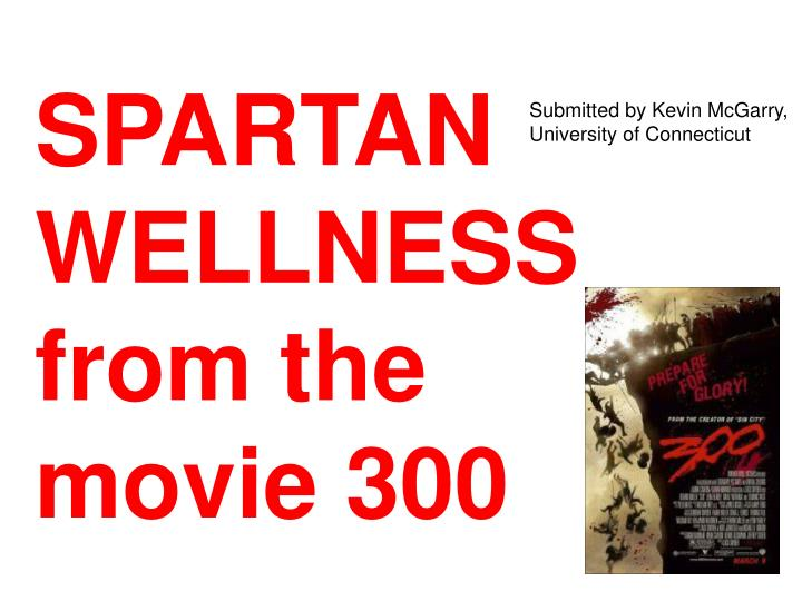 spartan wellness from the movie 300 n.