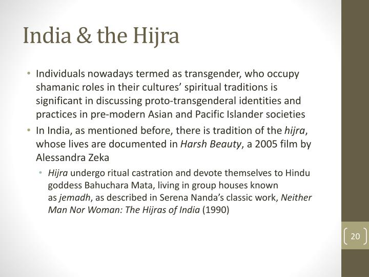 India & the Hijra