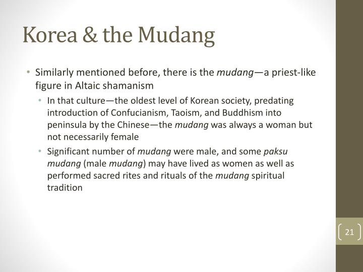 Korea & the Mudang