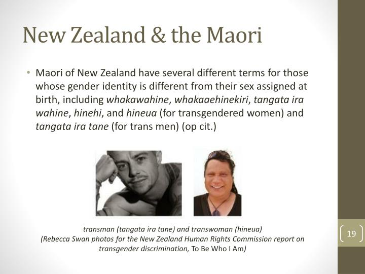 New Zealand & the Maori