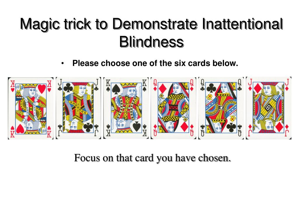 Ppt Attention Change Blindness Powerpoint Presentation Free Download Id 1309403