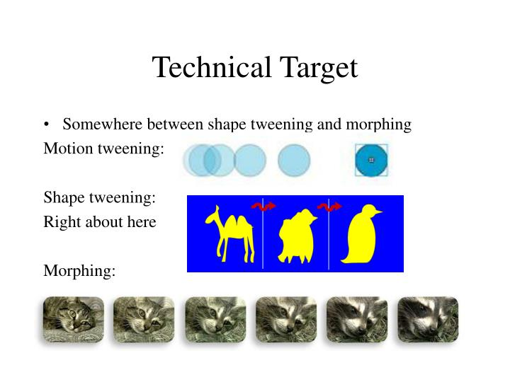 Technical Target