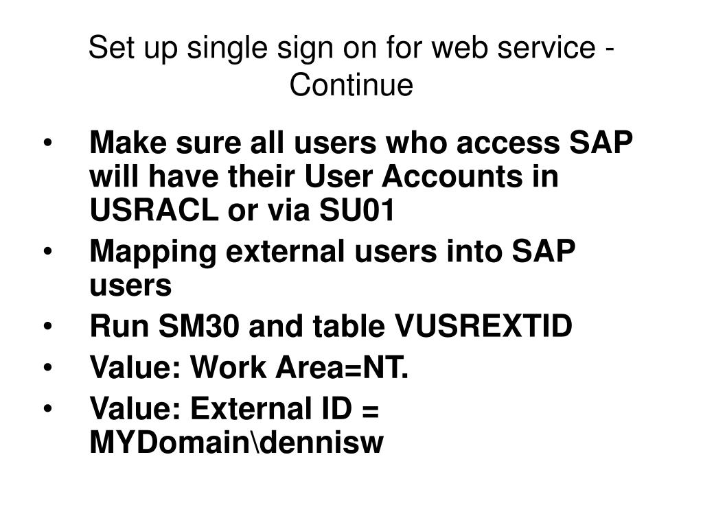 PPT - Create SAP Web Service with SAP  Net Connector in 5