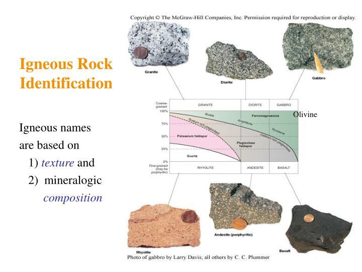 Igneous Rock Identification