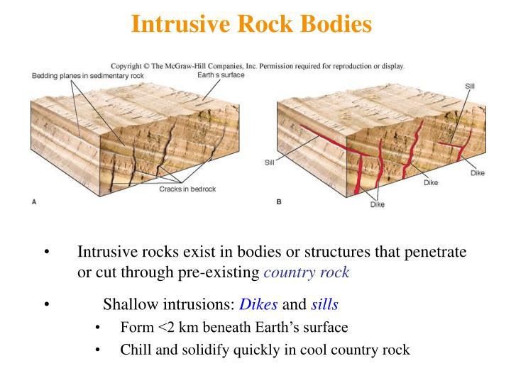 Intrusive Rock Bodies