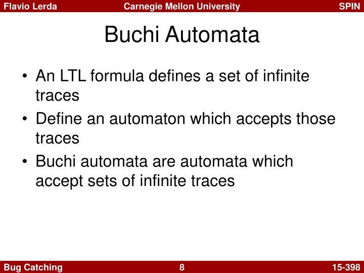 Buchi Automata