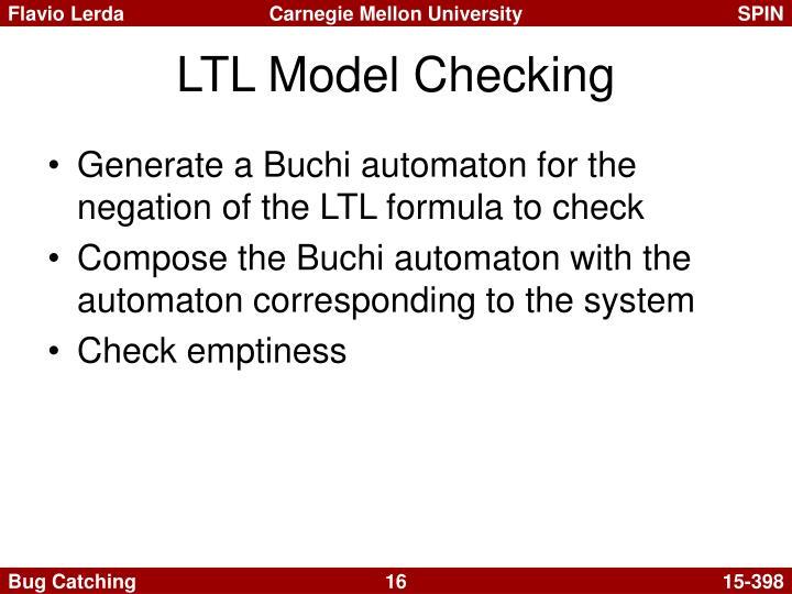 LTL Model Checking