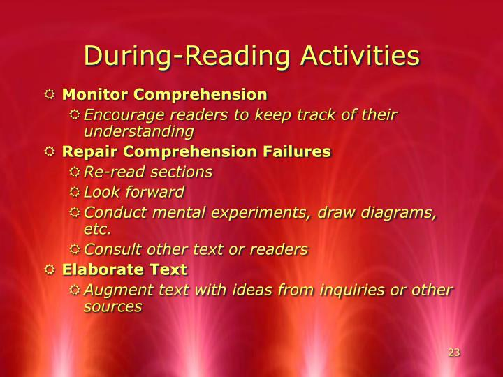 During-Reading Activities