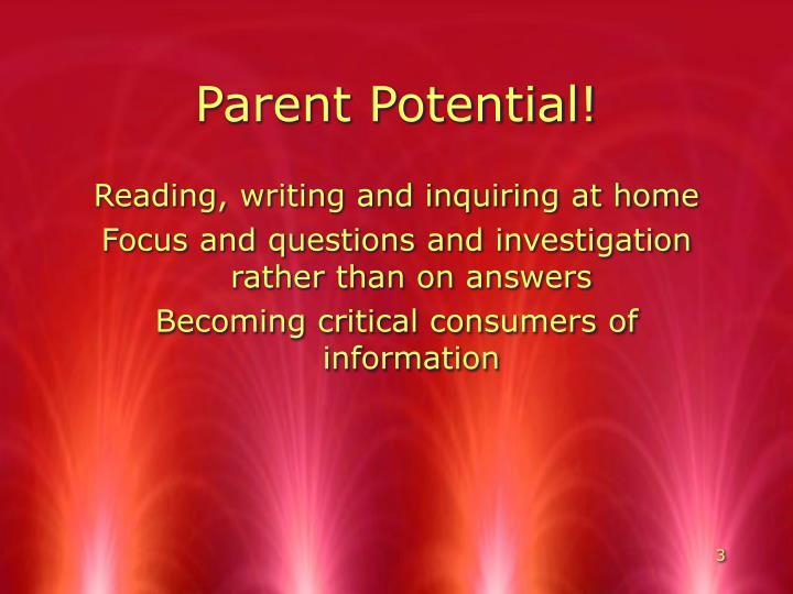 Parent potential